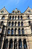 stock photo of city hall  - Manchester City Hall  - JPG