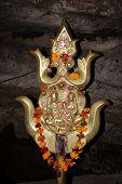 picture of shankar  - Triple stage trishul  - JPG