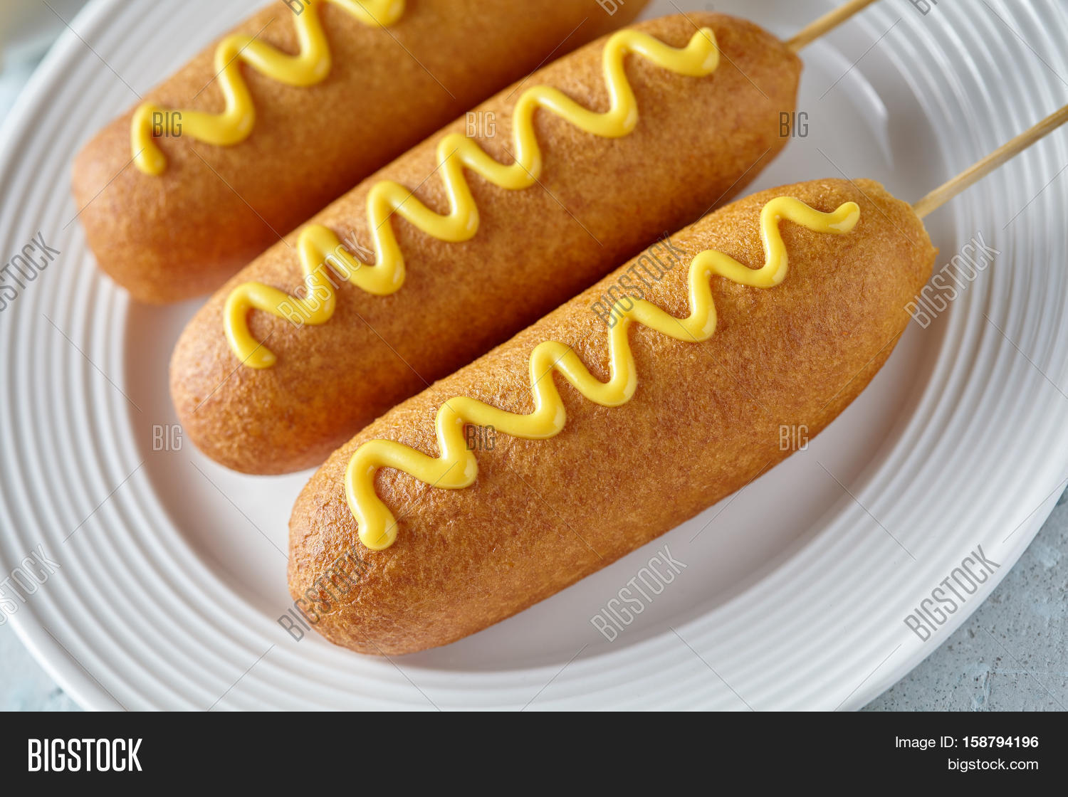 Corn dog traditional american food image photo bigstock for Authentic american cuisine