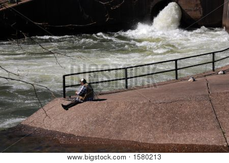 Spillway Fishing