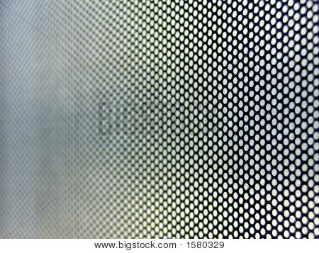 Metallic Perforated Surface
