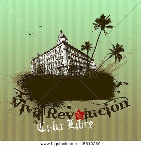 Ilustración de la Revolucion de viva. Vector