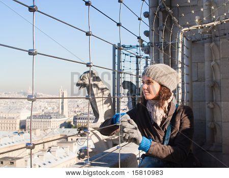 Tourist in Paris. France.