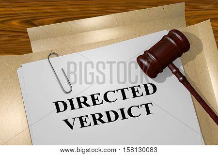 Directed Verdict - Legal Concept