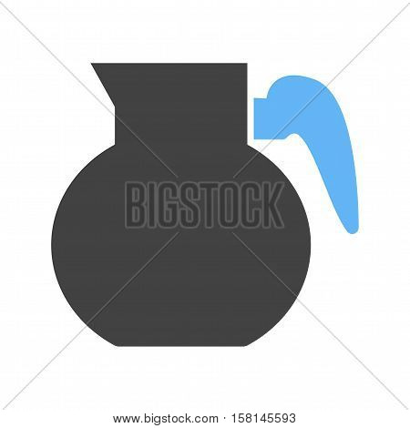 Coffee, hot, pot icon vector image. Can also be used for coffee shop. Suitable for use on web apps, mobile apps and print media