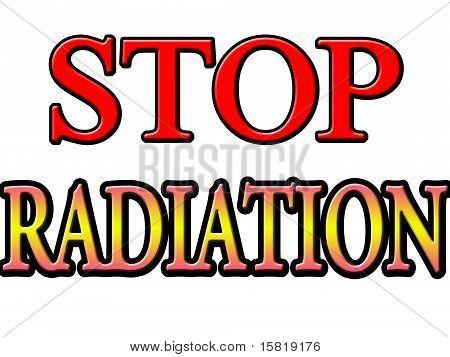 stop radiation