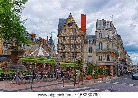 Adam House In Place Sainte Croix In Angers In France