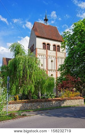 Benedictine Church Of St Mary And Mark In Reichenau Island