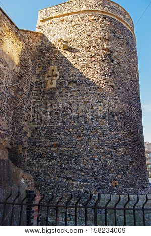 Canterbury City Wall Tower In Canterbury Kent Of England