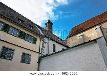 Fragment Of Benedictine Church St Mary And Mark Reichenau