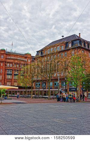 Place Kleber Square In Strasbourg In France