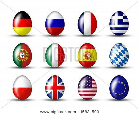 Egg Collection From The World