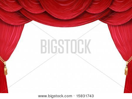 Backdrop Of A Theater