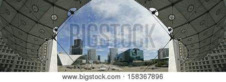 Paris - May 10: Paris, France On May 10, 2012.  La Defense (panoramic View), Commercial And Business