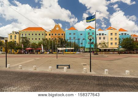 Dutch Antilles of Curacao and the city of Willemstad
