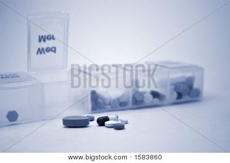 Pill Sorter Blue