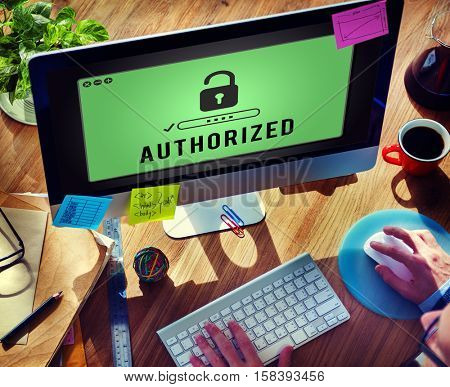 Authorized Access Opened Pass Authority Concept
