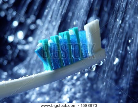 Blue Toothbrush