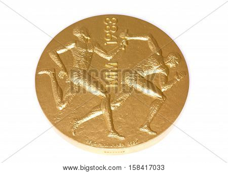 Helsinki 1983 Athletics World Championships Participation Medal, Obverse. Kouvola, Finland 06.09.201