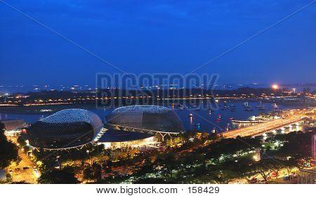 Esplanade Singapore - Abstract