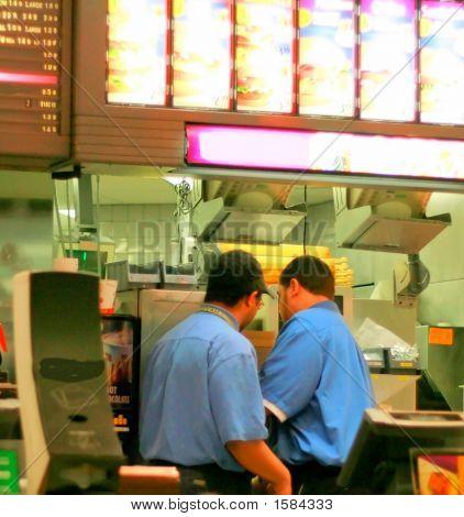 Fast Food Staff