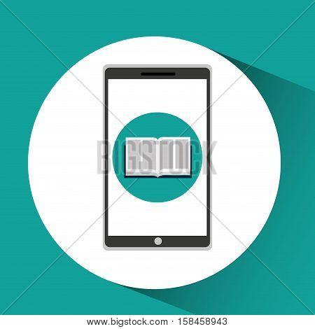 app education online e-learning vector illustration eps 10