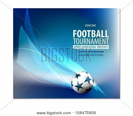 Football party, football championship, football tournament college league