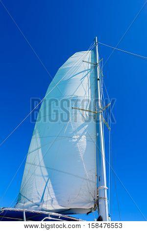 Yacht Sail Mast