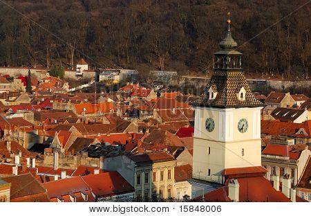 Brasov, des Rates viereckiger Turm, Rumänien