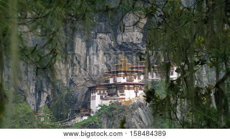 Taktsang lakhang aka tigress nest monastery Bhutan