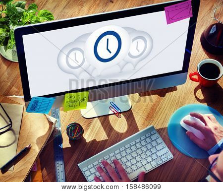 Time Management Punctual Duration Minute Hour Concept