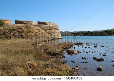 Sibenik St. Nicholas Fortress / 16 century St. Nicholas fortress (Croatia)