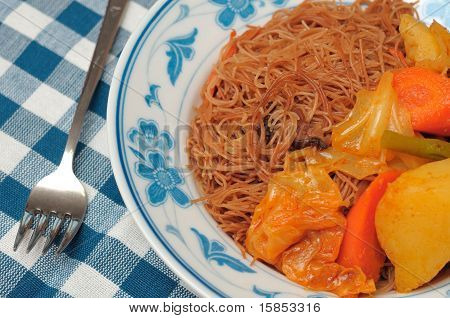 Asian Curry Bee Hoon