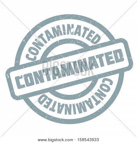 Contaminated Rubber Stamp
