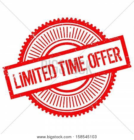 Limited Time Offer Stamp