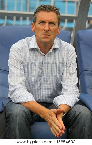 The Head Coach Of FC Gent Francky Dury