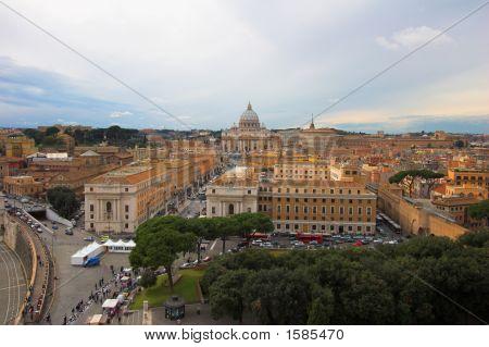Saint Peter'S Basilica, Panoramic View
