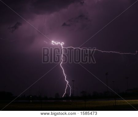 Lightning Strike Thunderstorm