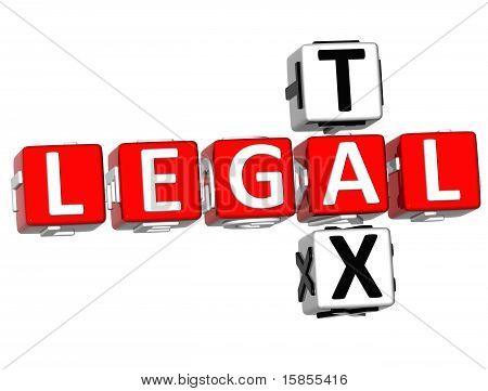 Legal Tax Crossword