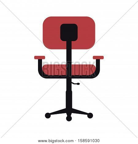 chair office comfort workplace design vector illustration eps 10