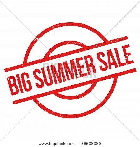 Big Summer Sale Rubber Stamp