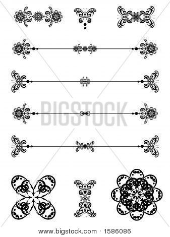 Butterfly Scroll Art 15