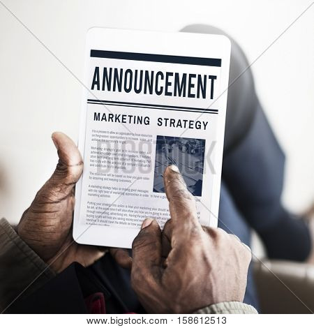 News Business Communication Marketing
