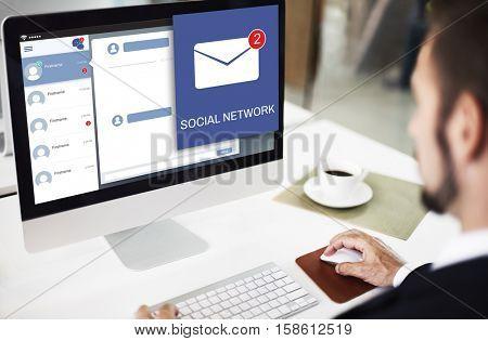 Letter Envelop Message Notification