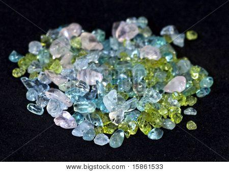 Chip bead gemstones