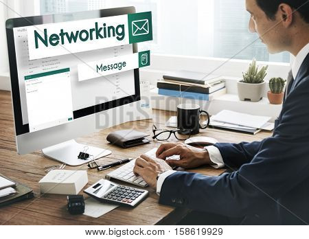 E-mail Global Communications Connection Social Networking