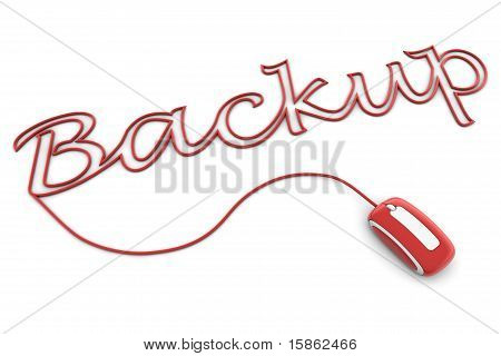 Browse The Glossy Red Backup Cable