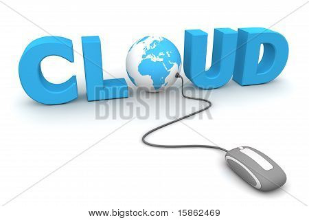 Browse The Global Cloud - Grey Mouse
