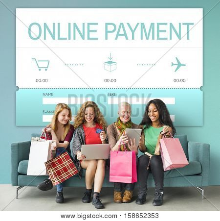 Online E-Commerce Shopping Interface Concept