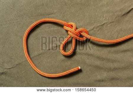 Tied Buterfly Knot.